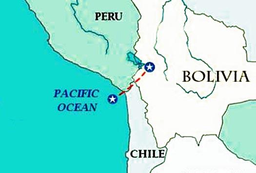 Chile Bolivia Mar Mar-bolivia