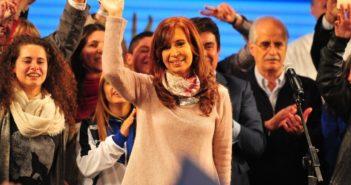 Elecciones Paso 2017   Bunker de  Cristina Kirchner  foto MARCELO CARROLL
