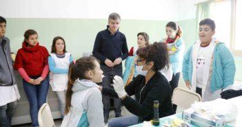 Zabaleta presentó el programa de oftalmología
