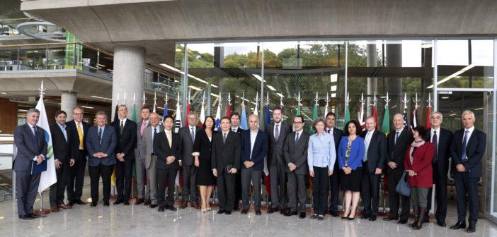 Rodríguez Larreta y embajadores de la OCDE