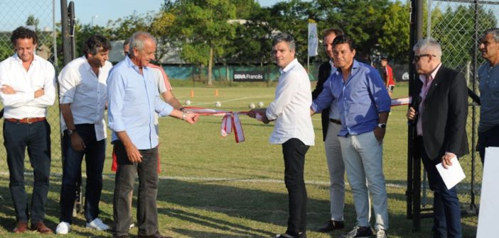 inauguración canchas polideportivo municipal 2