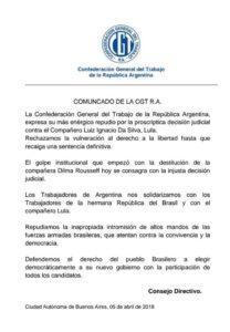 CGT LULA