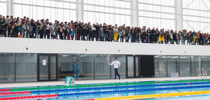 Llegada Antorcha Olímpica a la Ciudad (2)