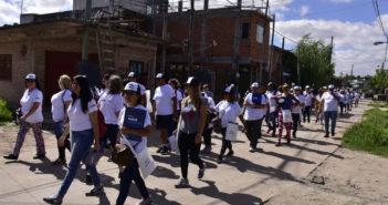 Voluntarios y operadores caminarán 14 barrios