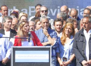 Verónica Magario fue oradora en el acto de unidad peronista en Avellaneda
