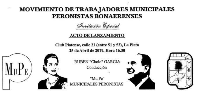 """LOS MUNICIPALES QUIEREN """"PISTA"""" EN EL PERONISMO"""