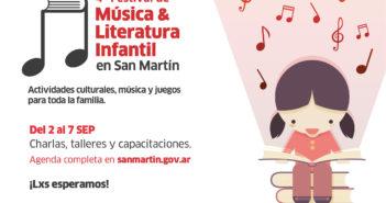 Se viene un nuevo Festival de Música y Literatura Infantil