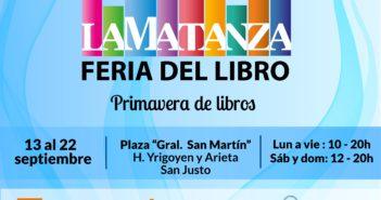 160-SC-Comienza la XII Feria Municipal del Libro de La Matanza-SJ 1