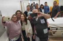 Vidal visitó el Hospital Zonal General de Agudos de Lobos (1)