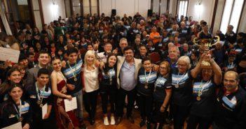 197-FE.Reconocimiento a ganadores Juegos Bonaerenses 2