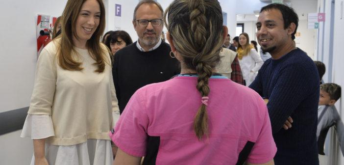 Vidal visitó el CAPS N°1 de Ciudadela