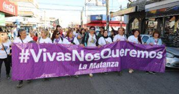210-Se realizó la Marcha contra la Violencia de Género 1