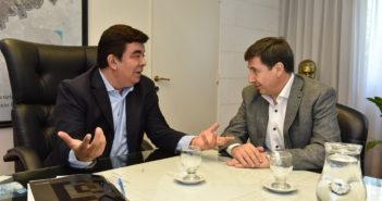 En La Matanza se reunieron Daniel Arroyo y Fernando Espinoz apara definir medidas del plan contra el hambre 1