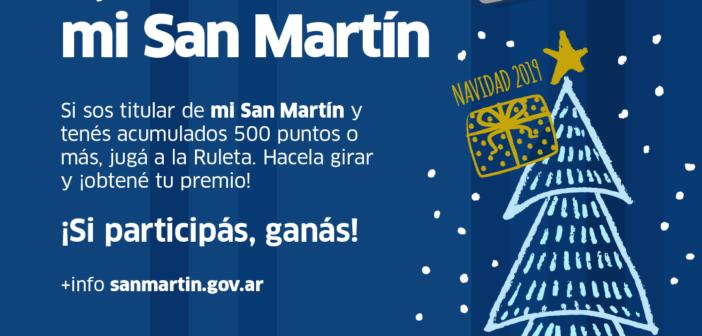 Juego Navideño con mi San Martín