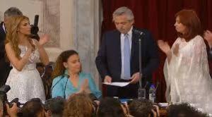 Alberto Fernandez, juramento