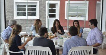 Reunion con autoridades nacionales (1)