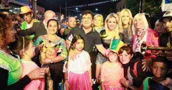 Cumbia, humor y murgas en la primera noche de los carnavales de La Matanza 4
