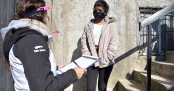El Municipio de San Martín contacta a alumnos que perdieron vínculo con sus escuelas durante la pandemia.