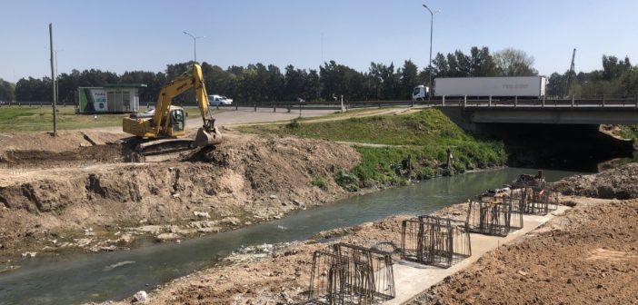 La obra de contención del Canal José Ingenieros permitirá la integración urbana de los barrios 9 de Julio, Libertador, SuhrHoreis y 8 de Mayo, en José León Suárez.