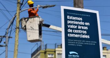 Ahora, las obras se realizarán desde Sarmiento hasta Amancio Alcorta, con nuevas veredas, iluminación LED, arbolado y otras mejoras.