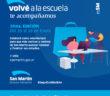 El Municipio lanza la décima edición del Programa Volvéa la Escuela, que convoca a vecinas y vecinos de San Martín a finalizar sus estudios.