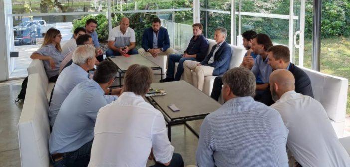 MM reunion con bonaerenses